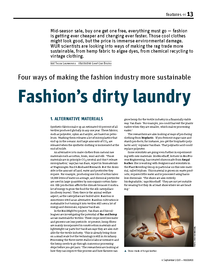 Resource WUR Fashion's Dirty Laundry